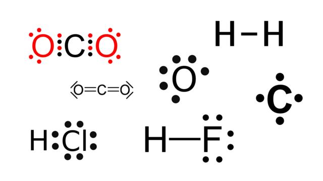 Darstellung Chemischer Verbindungen Lewis Formeln