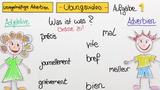 Adverbien – unregelmäßige Bildung (Übungsvideo)