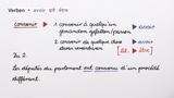 """Verben in zusammengesetzten Zeiten – wechselnder Gebrauch von """"être"""" und """"avoir"""""""