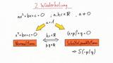 Graphisches Lösen von quadratischen Gleichungen – Beispiele