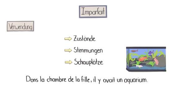 Imparfait – Überblick