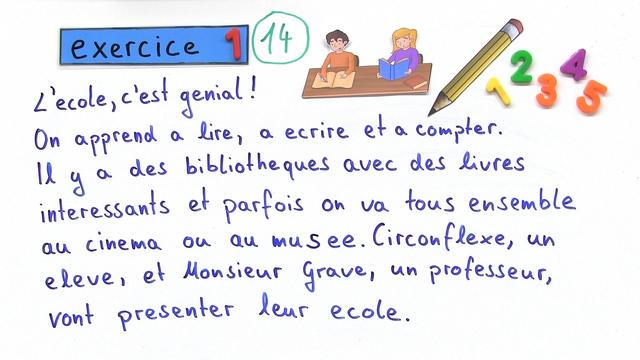 Akzente im Französischen (Übungsvideo)