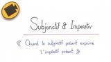 Subjonctif und Imperativ