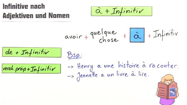 Infinitive nach Adjektiven und Nomen