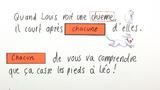 """Wie verwende ich """"chaque"""" und """"chacun""""?"""