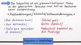 Subjuntivo in Hauptsätzen