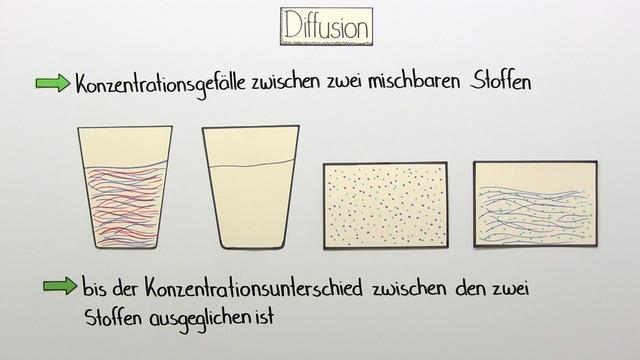 Diffusion und Osmose (Vertiefungswissen)