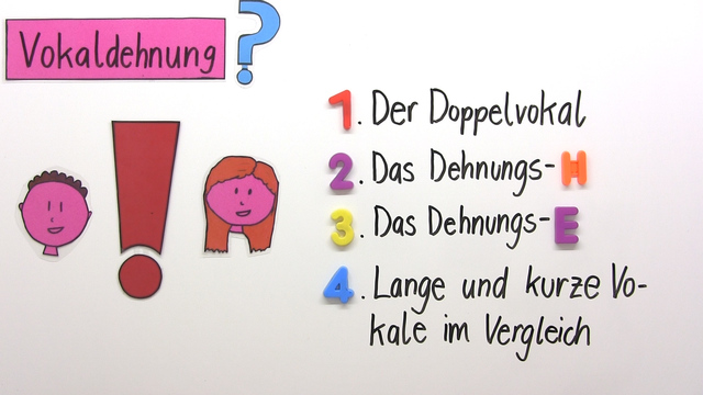 Vokaldehnung – Einfach erklärt (inkl. Übungen)