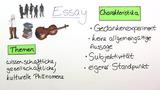 Essay – Überblick