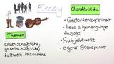 Essay – Textsorte