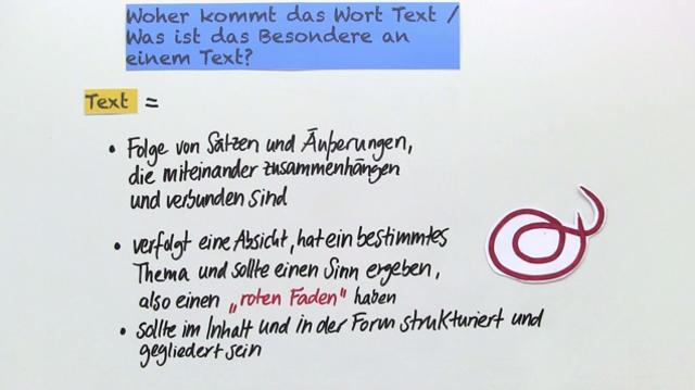 Was Ist Ein Text Einfach Erklärt Inkl übungen