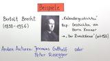 Kalendergeschichte – Überblick