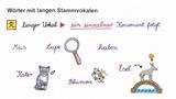 Wörter mit langen Stammvokalen