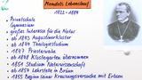 Mendel – Lebenslauf