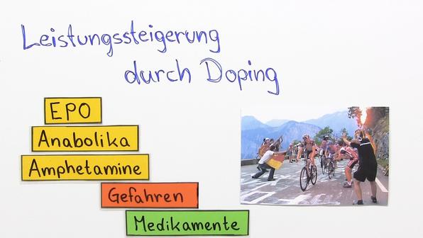 Doping – Wirkung einer illegalen Leistungssteigerung