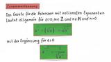Potenzen mit rationalem Exponenten