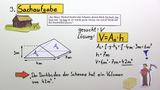 Volumen eines Prismas berechnen – Beispiele