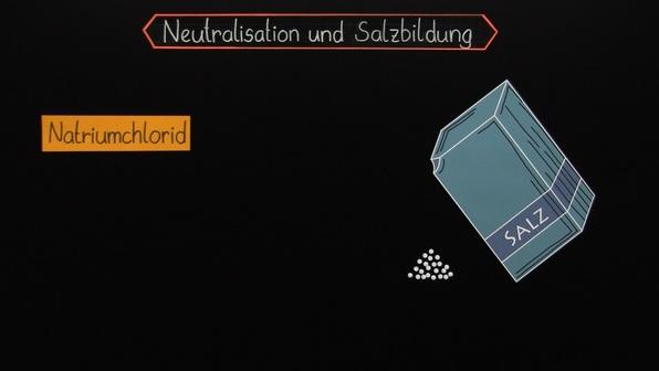 Die Neutralisationsreaktion - Bildung von Salzen