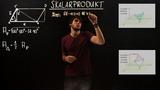 Skalarprodukt – Flächeninhalte von Parallelogrammen und Dreiecken