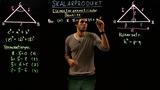 Skalarprodukt – Elementargeometrische Beweise