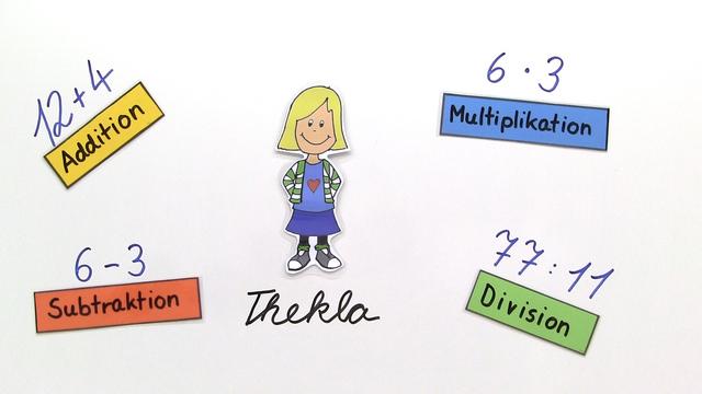 vier Grundrechenarten