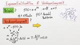 Exponentielles Wachstum und Verdopplungszeit – Übung