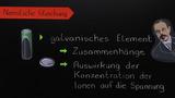 Nernst-Gleichung und die Konzentrationsabhängigkeit des Elektrodenpotentials