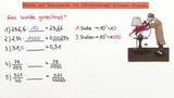 Brüche und Dezimalzahlen mit Zehnerpotenzen dividieren – Beispiele