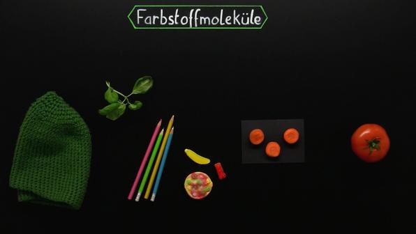 Farbstoffmoleküle – Was macht Moleküle farbig?
