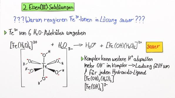 Hydratisierte Metallionen als Säuren