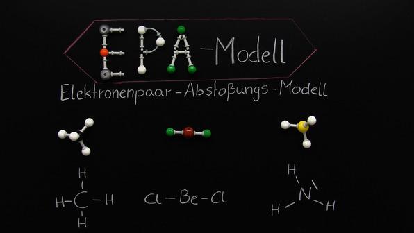 EPA-Modell – räumliche Struktur in Molekülen