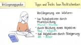 Tipps und Tricks bei ähnlich klingenden Lauten