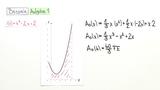 Flächeninhaltsfunktion – Fläche zwischen zwei Graphen