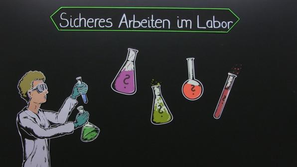 Sicheres Arbeiten im Labor