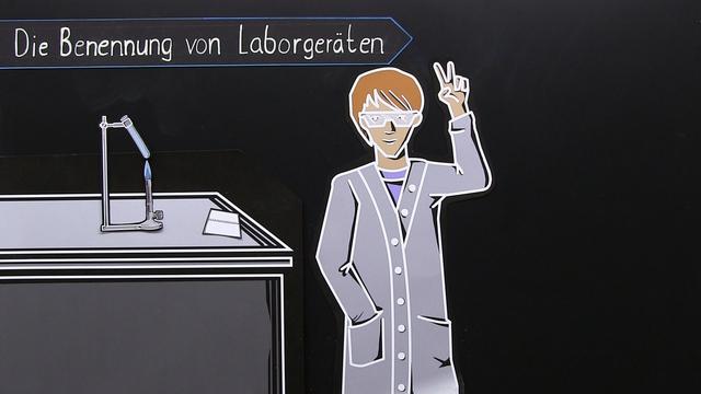 Die Benennung von Laborgeräten – In 5 1/2 Minuten erklärt.