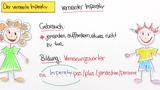 Imperativ – Verneinung