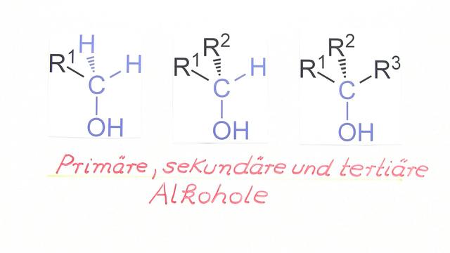 Primäre, sekundäre und tertiäre Alkohole – Einfach erklärt (inkl ...