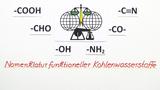 Nomenklatur funktioneller Kohlenwasserstoffe