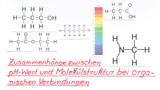 Zusammenhänge zwischen pH-Wert und Molekülstruktur bei organischen Verbindungen