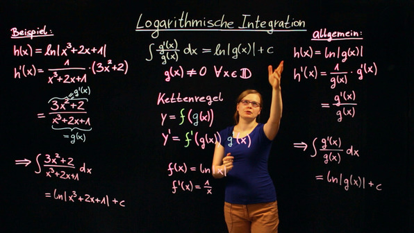 Logarithmische Integration