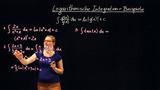Logarithmische Integration – Beispielaufgaben