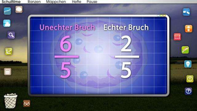 Scheinbrüche und unechte Brüche – In 4 1/2 Minuten erklärt.