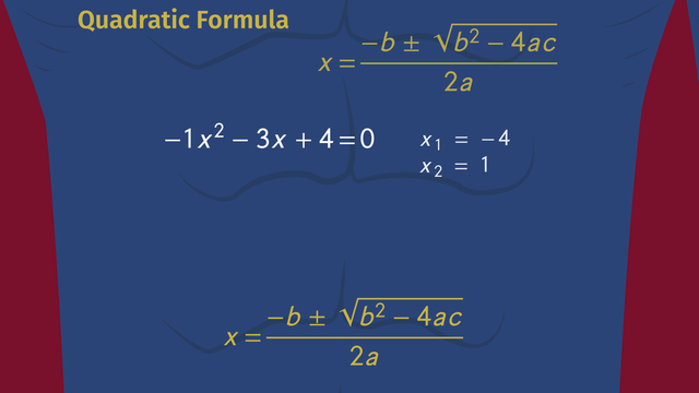 Solving Quadratic Equations Using the Quadratic Formula