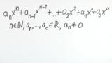 Ganzrationale Funktionen - Definition Teil 1