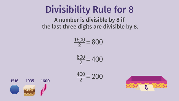 Divisibility Rules - 4, 5, 8, 10