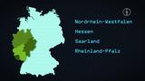Länderkunde –  Westdeutschland