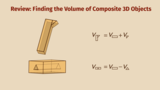 Finding the Volume of Composite 3D Objects