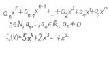 Ganzrationale Funktionen - Definition Teil 2