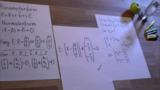 Von der Parameterform in die Normalenform (ohne Kreuzprodukt) – Aufgabe 1