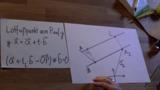 Abstandsbestimmung paralleler Geraden – Erklärung